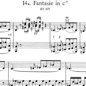 ▼ モーツァルト 幻想曲:とりとめのない練習…何とかしたいが…