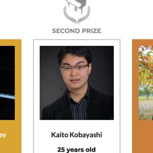 リーズ国際ピアノコンクール、小林海都くん 2位 ♪ 優勝はカザフスタンのAlim Beisembayev