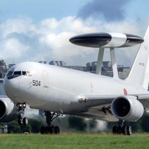 The nest of AWACS.