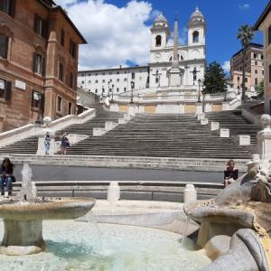 ローマ市内観光 普段取れない写真が撮れたー