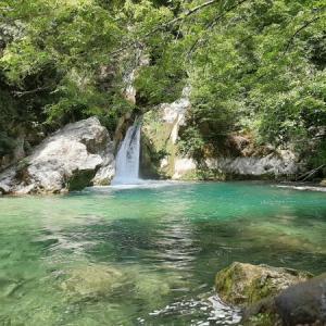 イタリア スビアーコでマイナスイオンをできるだけ浴びる(Laghetto di San Benedetto)