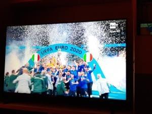 イタリアサッカー EURO2020で優勝