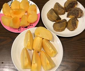 秋といえば柿!食べ比べ★オススメの品種をご紹介!