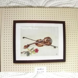 *作品展の写真「ヴァイオリン」*