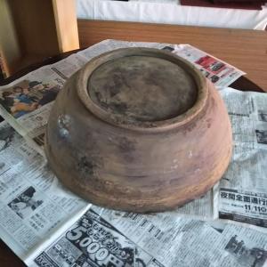 捏ね鉢の研ぎ