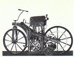 世界初のオートバイ