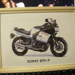 GSX-R750イラスト