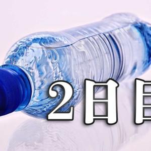 【2日目】飲み物を99%水にしてみる生活