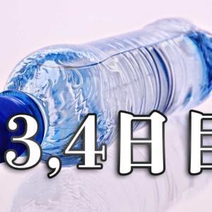 【3,4日目】飲み物を99%水だけにしてみる【食事制限・体質改善レポート】