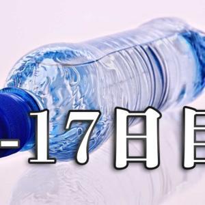 【5-17日目】飲み物を99%水だけにしてみる【食事制限・体質改善レポート】