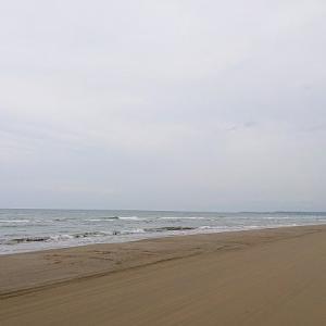 また千里浜へゆく