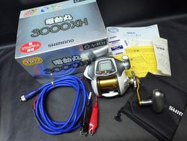 SHIMANO 08電動丸3000XH SPEED230m/分・定価46000円