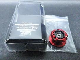 SHIMANO 夢屋 レイクマスター Lake Master アルミスプール RED