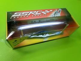 SSRC カラーグラフィックカーボンハンドル 92mm レーシングブルー/DAIWA用※ベアリング4個付※未使用品