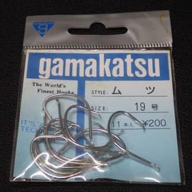 gamakatsu ムツ 19号 11本入