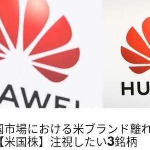 【米国株】中国市場における米ブランド離れが進む!注視したい3銘柄とは?