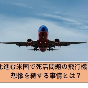 肥満化進む米国で死活問題の飛行機座席問題!想像を絶する事情とは?