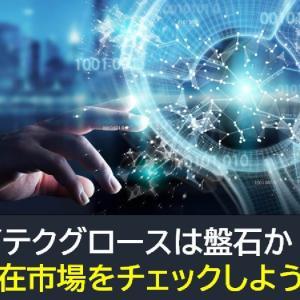 【米国株】ハイテクグロースは盤石か!?潜在市場をチェックしよう!