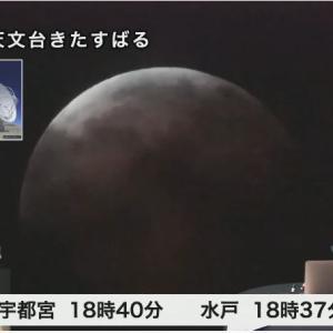 5月26日。神奈川県は曇っていて月食は見えませんでした。