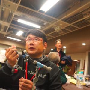 中峰 健児さんにジグニンフのタイイングを教えてもらった