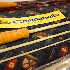 Campanellaの新作グラスロッドが欲しい