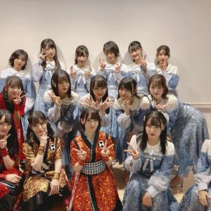 STU48がNHK総合「うたコン」に3回目の出演、今回は広島からでした