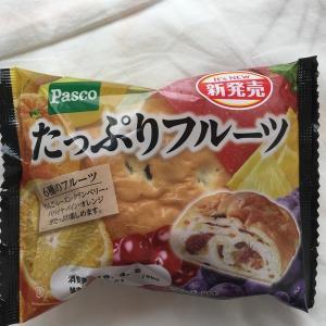 たっぷりフルーツパン☆276kcal