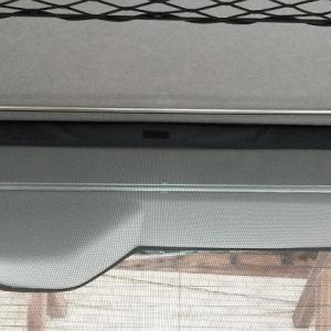 ハイエース快適化 リア窓にタオル&カーテン掛け製作