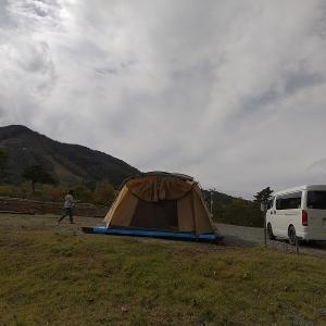 斑尾高原キャンプ 最終日は幻の蕎麦