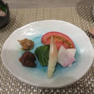 伊豆ペット宿旅行 ころぽっくるの夕食