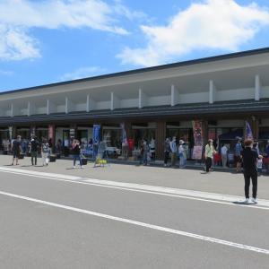 新潟へ車中泊旅 道の駅あらいと割烹かまたでカニ寿司