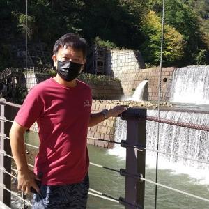 新潟~長野の旅 苗名滝を見に行く