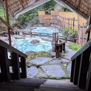 日本有数の強酸性温泉でした。
