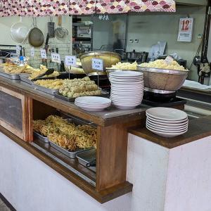 富士宮で美味しい饂飩の朝ごはん