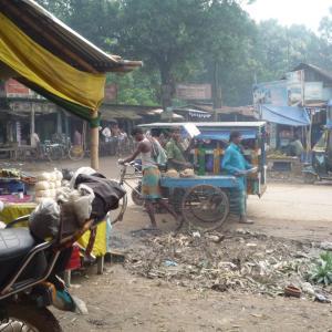 少数民族ガロが利用していた市場【バングラデシュ】