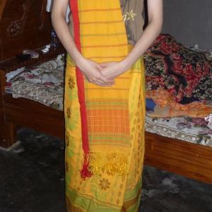 少数民族ガロの衣類事情⑧(女性・民族衣装①)【バングラデシュ】