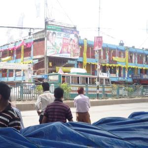 首都ダッカの中心地の様子【バングラデシュ】