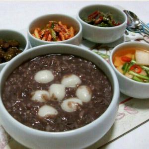 韓国の冬至は『小豆粥』を食べる!