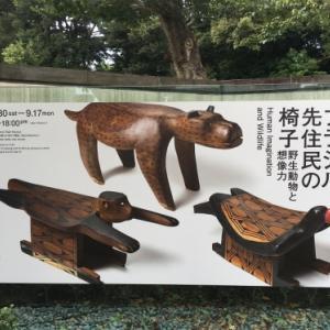 この愛嬌のある雰囲気がたまらん!「ブラジル先住民の椅子」展 ----埼玉県立近代美術館で開催中