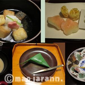 京都に行ったった。その3・美味しいもの。