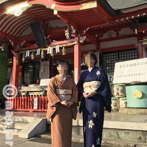 ウチの義妹とお友だち、神社にお参りで部活。