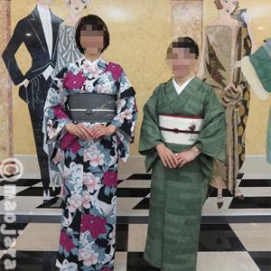 新宿の文化学院博物館に行ったった、ウチの義妹とお友だち。