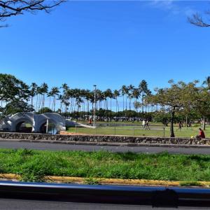 ハワイ旅行記 TV事情 字幕いりの「わろてんか」で、へぇ、の巻