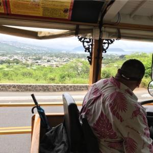 ハワイ旅行記 4日目 5 ダイヤモンドヘッド一周のバス旅、因縁の雲助タクシーはどうした?、、の巻
