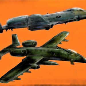 A-10 サンダーボルトⅡ対戦車攻撃幾