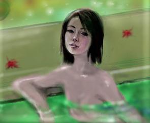 ヌード  紅葉の湯