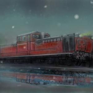 DD51 雪の鉄路