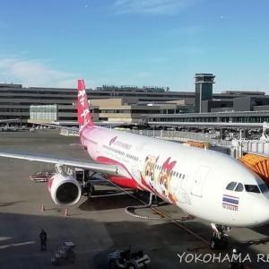 バンコク旅行 2020 ~ スクートとタイ・エアアジアX搭乗機