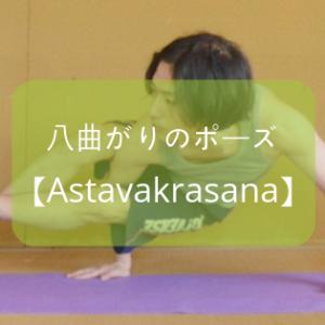 【ヨガ】アームバランス系「八曲がりのポーズ(アシュタヴァクラーサナ)」のやり方をレポート