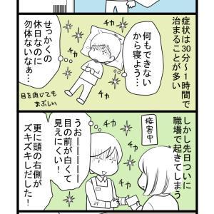 目のチカチカ/その②